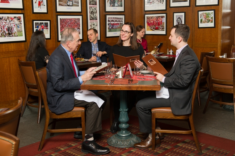 The Big Red Tap & Grill for casual dining at The Cornell Club - NYC